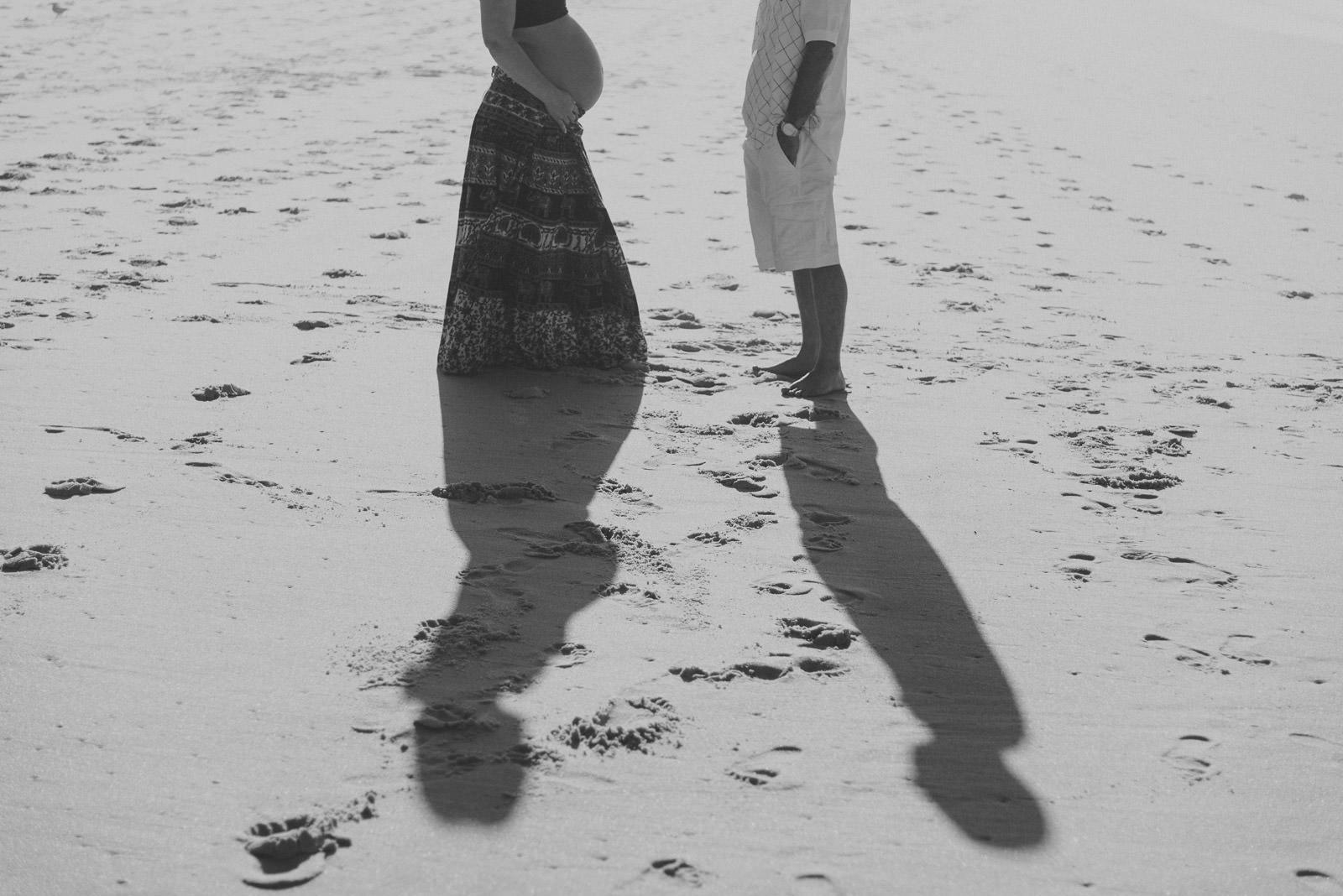 ensaio gestante luciana praia leblon
